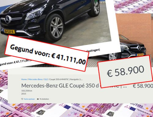 Zo verdien je € 10.000,- aan een occasion….